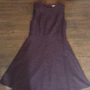 EUC Boden Wool Polka Dot Dress